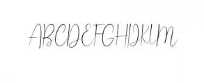 Ballroom Font UPPERCASE