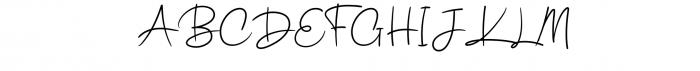Ballyamh Font UPPERCASE