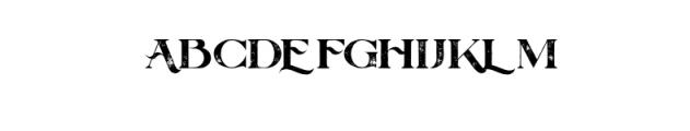 BalquesGrunge.otf Font UPPERCASE