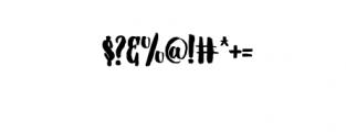 Barstilla Handpainted Font Font OTHER CHARS
