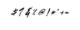 Basic Instinct Typeface Font OTHER CHARS