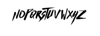Basic Instinct Typeface Font UPPERCASE