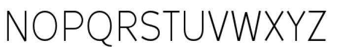 Backtalk Sans BTN Light Font UPPERCASE