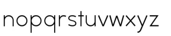 Backtalk Sans BTN Light Font LOWERCASE