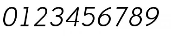 Backtalk Sans BTN Oblique Font OTHER CHARS