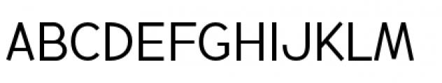 Backtalk Sans BTN Short Caps Font LOWERCASE