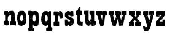 Bandoliers Regular Font LOWERCASE