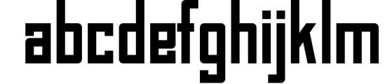BAHN Pro - Family 1 Font LOWERCASE