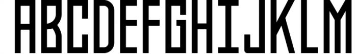 BAHN Pro - Family Font UPPERCASE