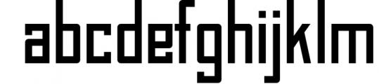 BAHN Pro - Family Font LOWERCASE
