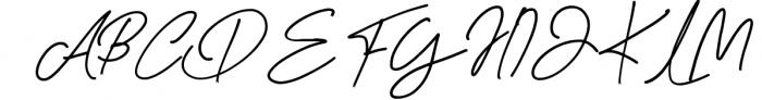 Baker Jackson Signature Font UPPERCASE