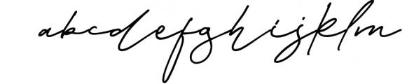 Baker Jackson Signature Font LOWERCASE