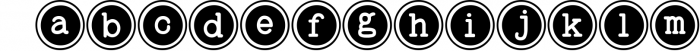 Baltimore Typewriter - SUPER PACK PROMOTION ! 2 Font LOWERCASE