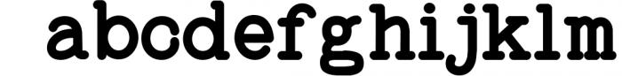 Baltimore Typewriter - SUPER PACK PROMOTION ! 3 Font LOWERCASE