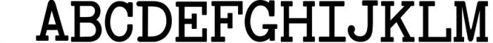 Baltimore Typewriter - SUPER PACK PROMOTION ! 4 Font LOWERCASE