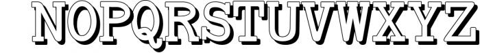 Baltimore Typewriter - SUPER PACK PROMOTION ! 5 Font UPPERCASE