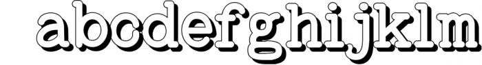 Baltimore Typewriter - SUPER PACK PROMOTION ! 5 Font LOWERCASE