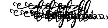 Bandrose typeface 1 Font LOWERCASE