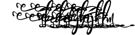 Bandrose typeface 3 Font LOWERCASE