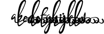 Bandrose typeface 6 Font LOWERCASE