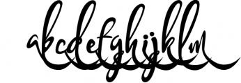 Bandrose typeface 7 Font LOWERCASE
