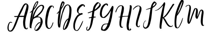 Barbeque Script Font UPPERCASE