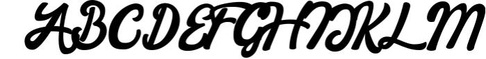 Barney Vintage Style Script Font Font UPPERCASE