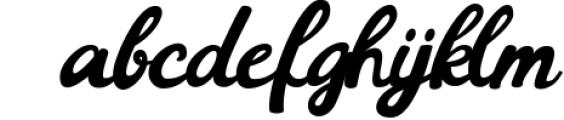 Barney Vintage Style Script Font Font LOWERCASE