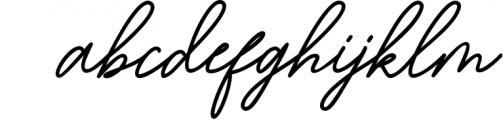 Bartdeng Handwritten Font   NEW Font LOWERCASE