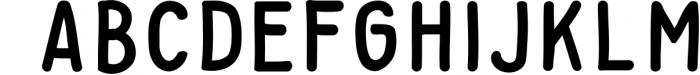 Baysoir Duo Handwritten Free Texture 2 Font UPPERCASE