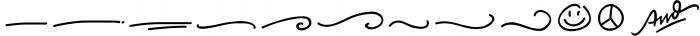Baysoir Duo Handwritten Free Texture 3 Font LOWERCASE