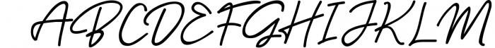 Baysoir Duo Handwritten Free Texture Font UPPERCASE