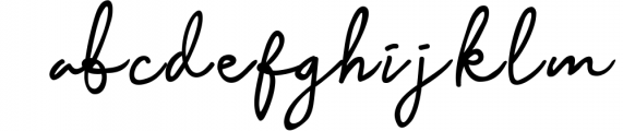 Baysoir Duo Handwritten Free Texture Font LOWERCASE