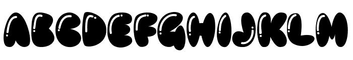 BABELGAMEE Font UPPERCASE