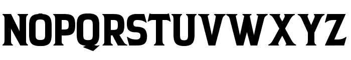 BACKCOUNTRY Regular Font UPPERCASE