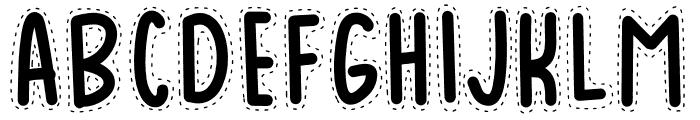 BADUY Font LOWERCASE