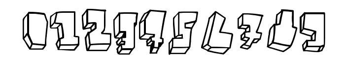BALOK-balok TAK sempurna Font OTHER CHARS