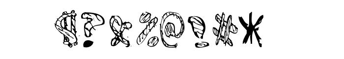 BAMFRegular Font OTHER CHARS