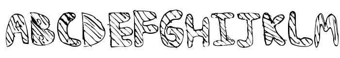 BAMFRegular Font UPPERCASE