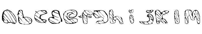 BAMFRegular Font LOWERCASE