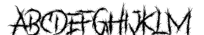 BANKZATH Font UPPERCASE