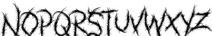 BANKZATH Font LOWERCASE