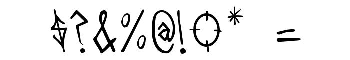 BARRAS- BRAVASRegular Font OTHER CHARS