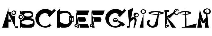 BASEHEAD Font LOWERCASE