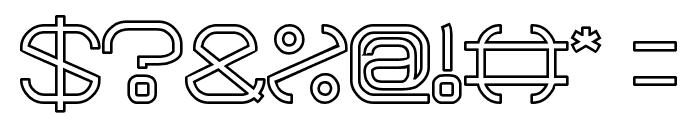 BAVARIA-Line Font OTHER CHARS