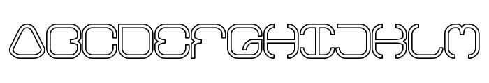 BAVARIA-Line Font UPPERCASE