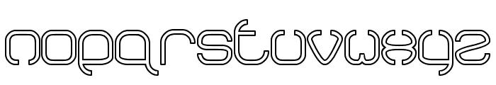 BAVARIA-Line Font LOWERCASE
