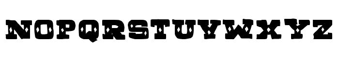 BAZAR COSTA Font UPPERCASE