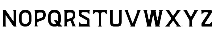BAZERD Font UPPERCASE