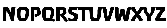 Baar  Antropos Display Font UPPERCASE